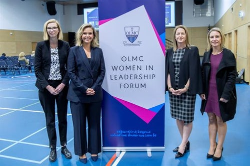 Courage and Mentorship key themes at OLMC Women in Leadership Forum