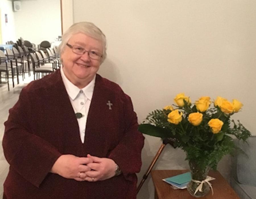 Roses from Mercy International Association