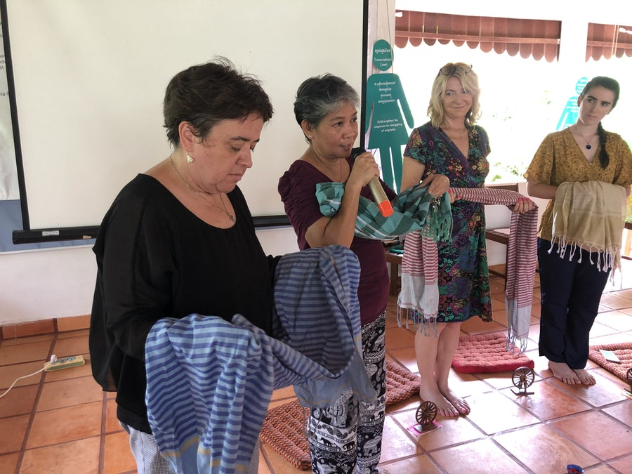 Commissioning with the shawls, Day Nine