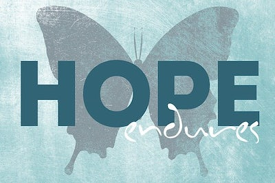 'How deep are the Well-springs of Hope?'