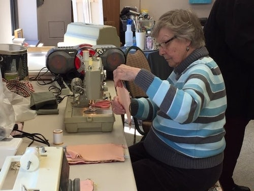 Sisters at Marian Woods Convent Help Stop the Spread of COVID-19