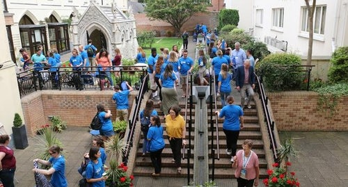 Fourth Young Mercy Leaders Pilgrimage a Great Success!