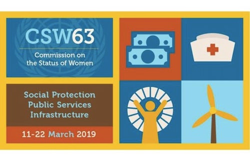 CSW63, 11-22 March