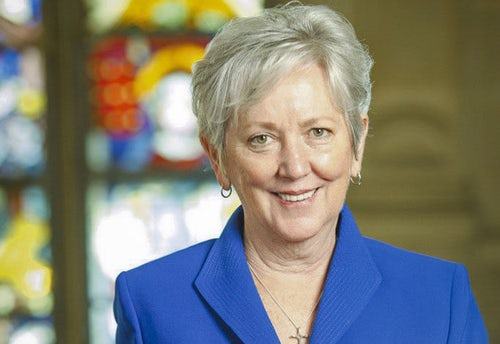 A Sister of Mercy returns home to healthcare service