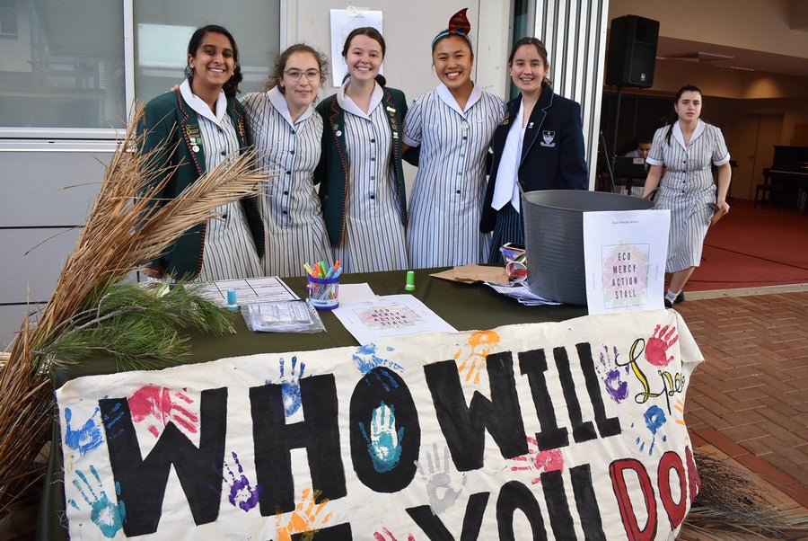 Social Justice Activities a Feature of Mercy Day at Our Lady of Mercy College Parramatta