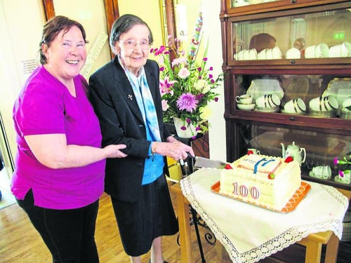 Longford nun celebrates 100th birthday milestone in lockdown