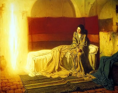 The Annunciation - Praying with art - Geoff Wheaton SJ