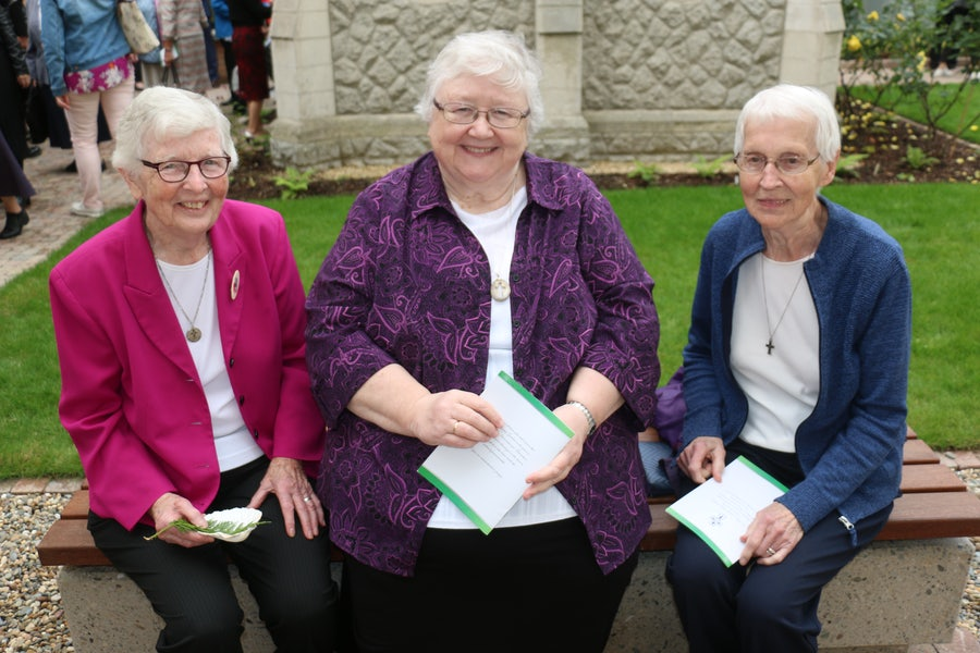 L-r: Patricia March rsm, Elizabeth Davis rsm, Monica Hickey rsm - Newfoundland Congregation