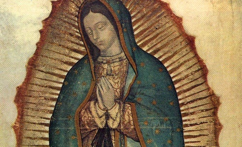 12 December: Feast of Our Lady of Guadalupe