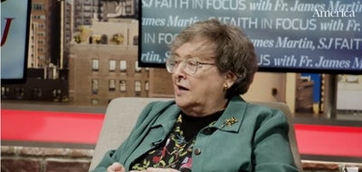 Imagining God as a woman with theologian Elizabeth Johnson, CSJ | Faith in Focus