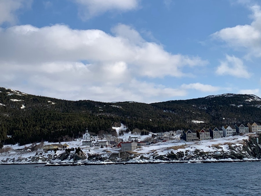 Portugal Cove seen from the ferry