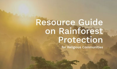 Resource Guide on Rainforest Protection for Religious Communities