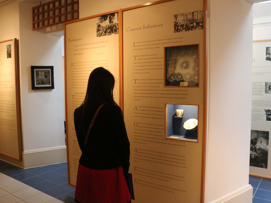 Reading the Mercy Story in the Heritage Room