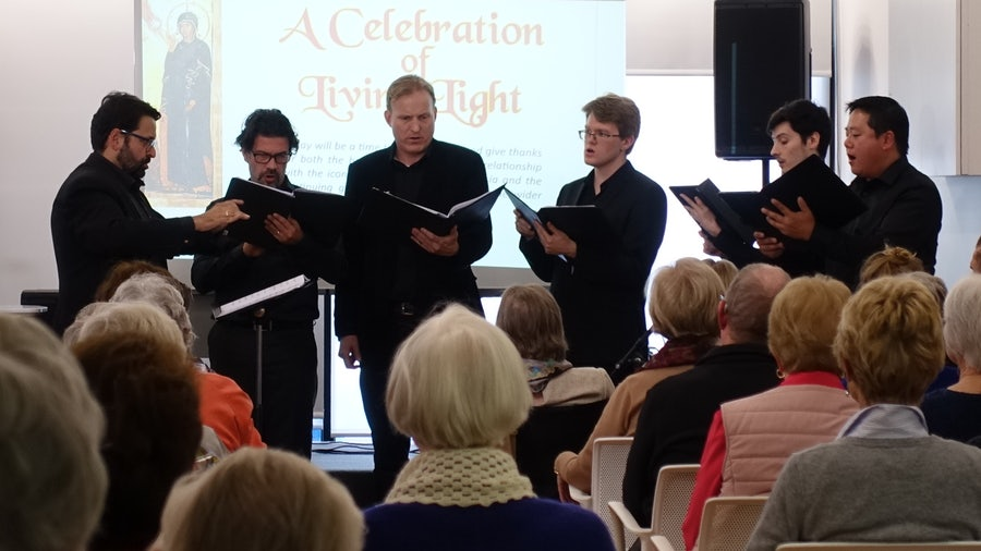 Melbourne Capella Choir performing
