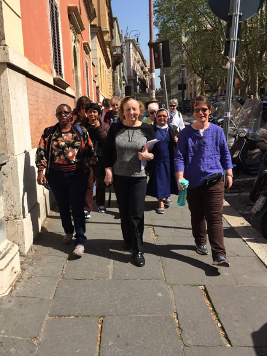On Foot to the Church of St Pudenzia