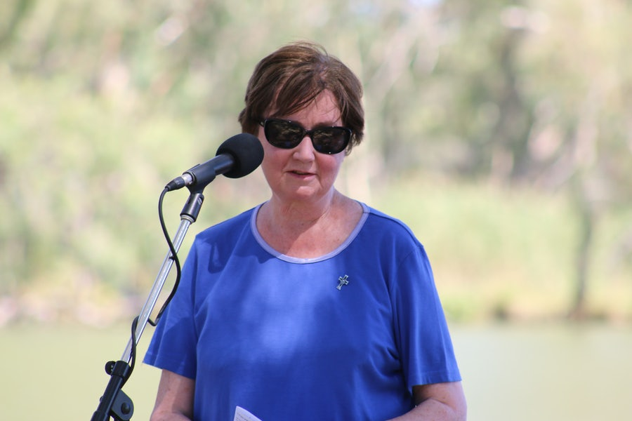 Adele Howard rsm prepared the ritual and was MC for the event