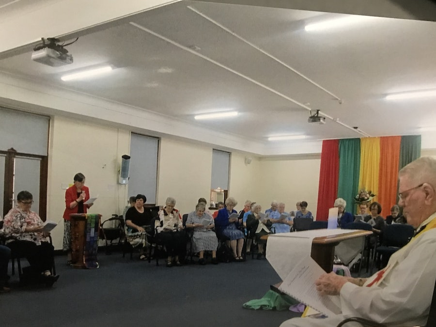 """Mercy Day Celebrations on Saturday 21 September Brisbane - """"enveloped in mercy - the practice of tender-hearted compassion and kindness to others"""" Col 3 : 13 A wonderful experience of Eucharist and community and the sharing of friendship and food!"""