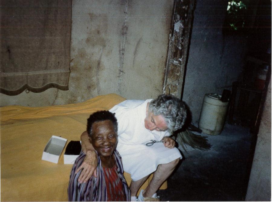 M Garret Fitzpatrick rsm and friend, 1986