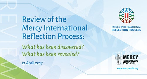 Mercy International Reflection Process Report Available Here in both English & Spanish