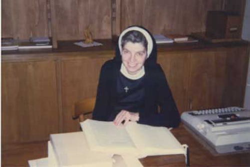 Sr. Angela Bolster's papers transferred on permanent loan to Congregational Archives