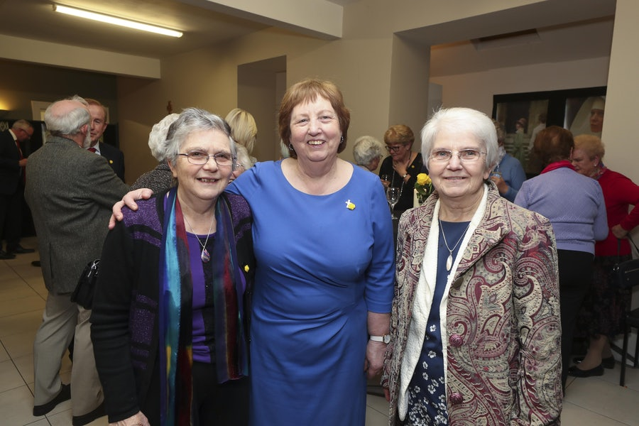 Srs Peggy Collins, Mary Reynolds, Thomasina Finn