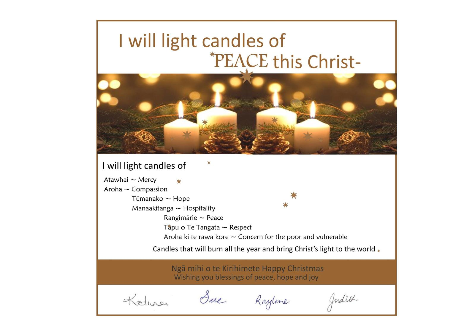 More Christmas Greetings From The Mercy World Mercy World