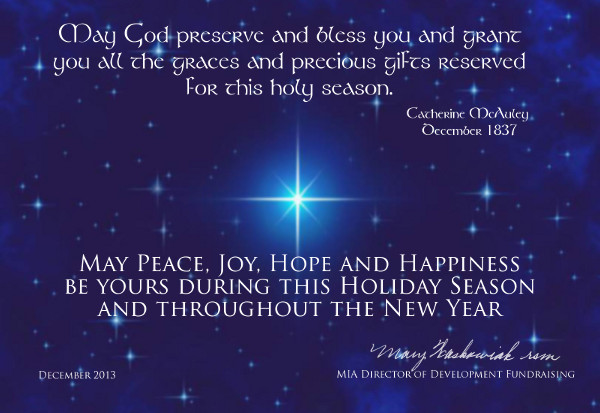 Sharing Christmas Greetings | Mercy World