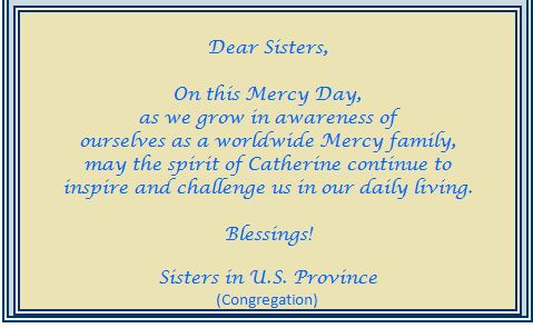 Sharing mercy day greetings with one another 3 mercy world have a wonderful day m4hsunfo